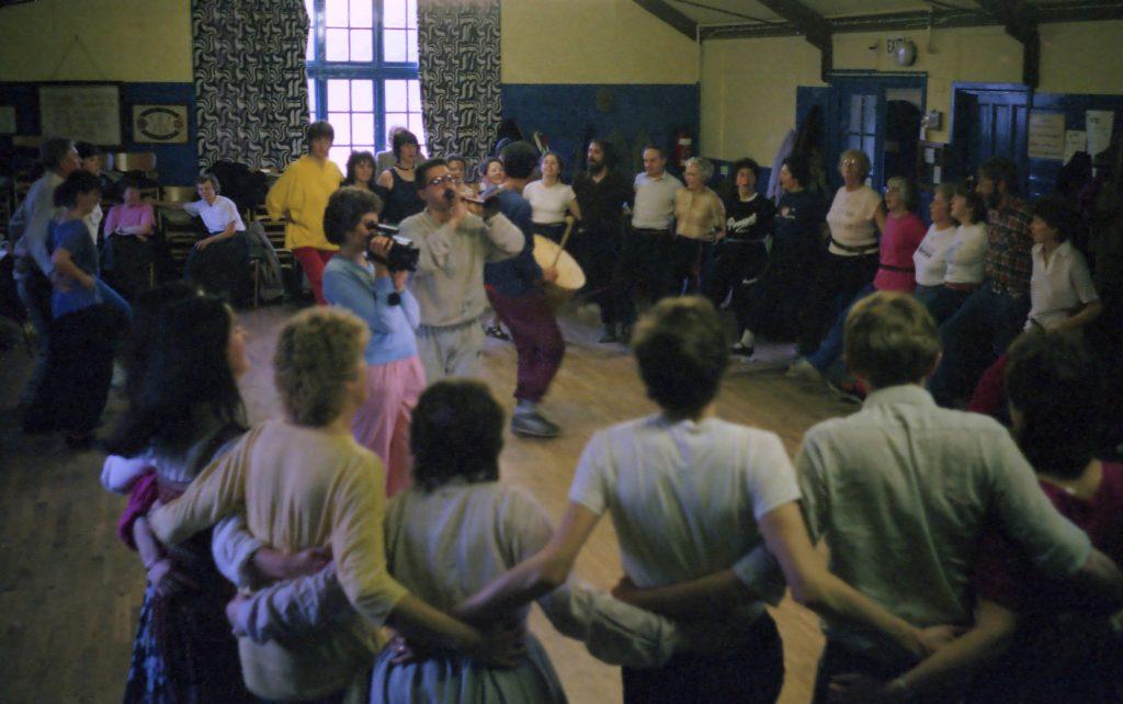 Balkan dance seminar 1987
