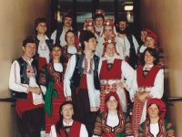 Balkan dance performance 1988